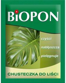 BIOPON chusteczka do liści - czyści i nabłyszcza