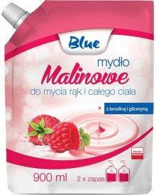BLUE Mydło w płynie zapas malinowe 900ml