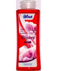 BLUE Płyn do kąpieli różany różowy 1L