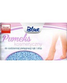BLUE pumeks kosmetyczny 8x5cm