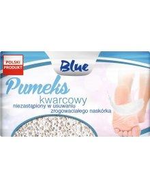 BLUE pumeks kwarcowy 8x5cm
