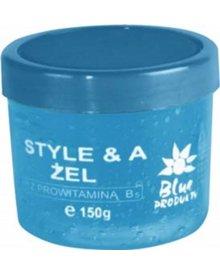 BLUE Żel do włosów niebieski efekt mokrych włosów 150ml