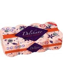 DELIKATO papier toaletowy brzoskwiniowy 8szt