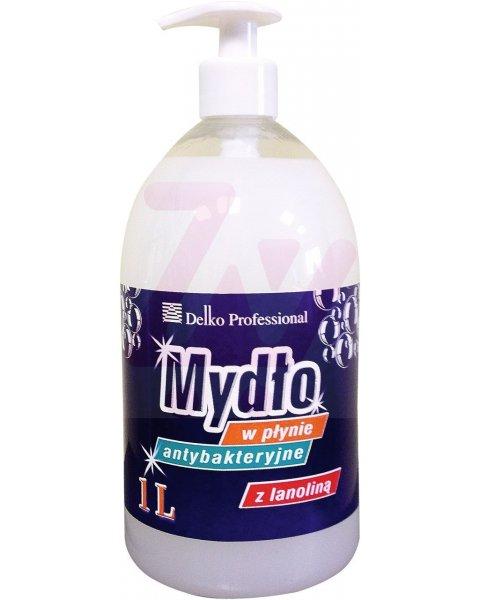 DP profesjonalne mydło antybakteryjne z lanoliną dozownik 1L