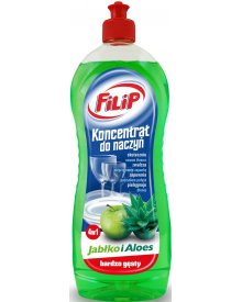 FILIP Koncentrat do naczyń zielone jabłuszko i aloes 750ml