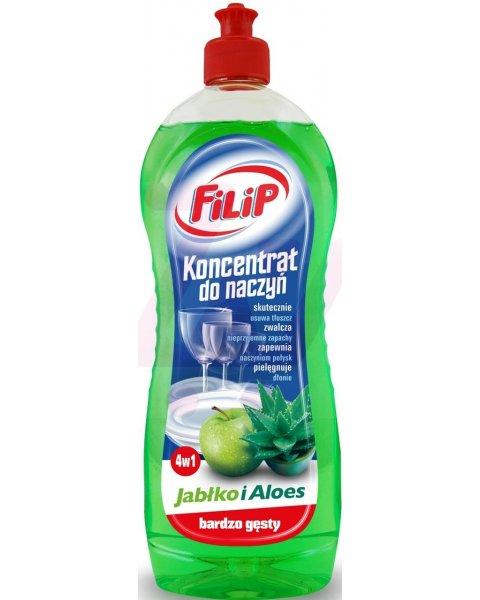 FILIP Koncentrat do naczyń zielone jabłuszko i aloes 750ml