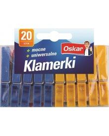 OSKAR Klamerki standard 20szt
