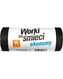 OSKAR worki na śmieci Economy 60L 10szt