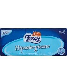 Foxy Hipoalergiczne Chusteczki niepodrażniające skóry 10 x 9 sztuk