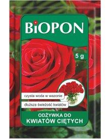 BIOPON odżywka do kwiatów ciętych proszek 5g