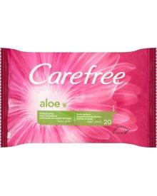 Carefree Aloe Chusteczki do higieny intymnej 20 sztuk
