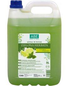 ABE Mydło w płynie zielona herbata z limonką 5l