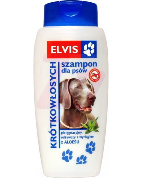 ELVIS Szampon dla psów krótkowłosych 300ml