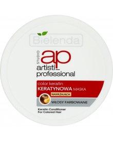 Bielenda Artisti Professional Color Keratin Maska do włosów farbowanych 150ml