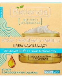 Bielenda Argan+ Macadamia+ Marula Krem nawilżający na dzień i noc 50ml