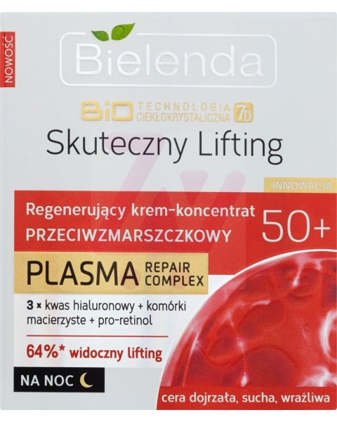 Bielenda BioTechnologia 7D Skuteczny Lifting 50+ Krem na noc 50ml