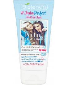 Bielenda Insta Perfect Matt&Clear Peeling do mycia twarzy 3w1 150ml