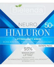 Bielenda Neuro Hialuron 50+ Krem-koncentrat liftingujący przeciwzmarszczkowy na dzień i noc 50ml