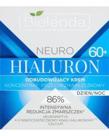 Bielenda Neuro Hialuron 60+ Krem-koncentrat odbudowujący przeciwzmarszczkowy na dzień i noc 50ml