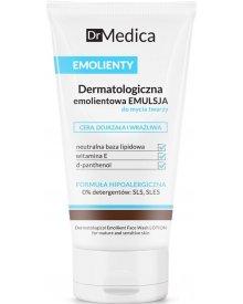 Dr Medica Emolienty dermatologiczna emulsja do mycia twarzy cera dojrzała wrażliwa 150ml