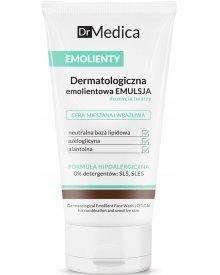 Dr Medica Emolienty Dermatologiczna Emulsja do mycia twarzy cera mieszana wrażliwa 150ml
