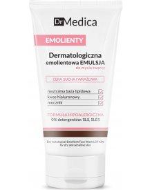 Dr Medica Emolienty Dermatologiczna Emulsja do mycia twarzy cera sucha wrażliwa 150ml