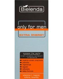 Bielenda Only for Man Extra Energy Krem nawilżający przeciw oznakom zmęczenia 50ml