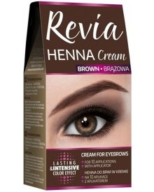 Revia henna do brwi w kremie Brązowa 15ml