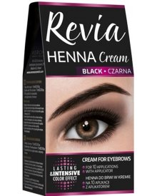 Revia henna do brwi w kremie Czarna 15ml