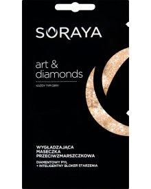 Soraya art&diamonds Wygładzająca maseczka przeciwzmarszczkowa 10 ml (2 x 5 ml)