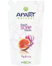 Apart Natural Prebiotic Kremowe mydło w płynie figa i irys Zapas 400 ml