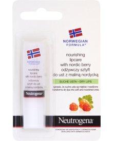 NEUTROGENA Formuła Norweska Odżywczy sztyft do ust z maliną nordycką 4,8 g