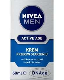 NIVEA MEN Active Age Krem przeciw starzeniu się skóry 50 ml