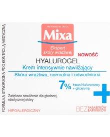 Mixa Hyalurogel Krem intensywnie nawilżający 50 ml