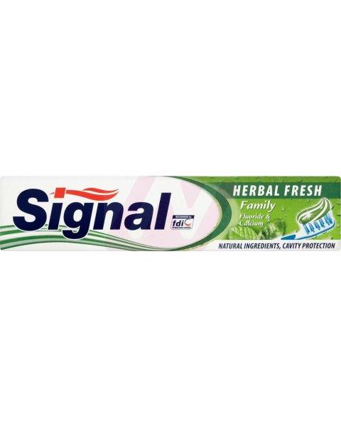 Signal Family Herbal Fresh Pasta do zębów 100 ml