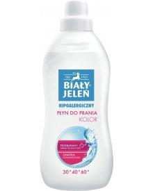 Biały Jeleń Hipoalergiczny płyn do prania kolor 1 l (12 prań)