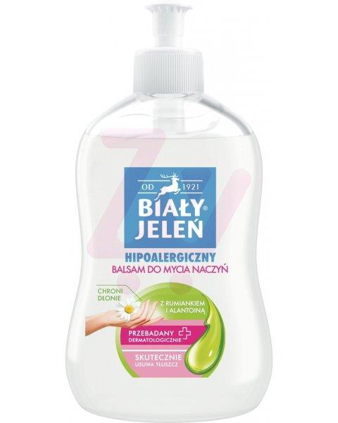 Biały Jeleń Hipoalergiczny balsam do mycia naczyń 500 ml