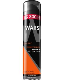 Wars Classic pianka do golenia energetyzująca 300ml