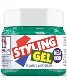 Hegron Żel do włosów bardzo mocny zielony 250 ml