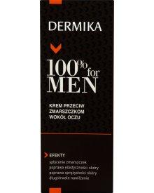 Dermika 100% for Men Krem przeciw zmarszczkom wokół oczu 15 ml