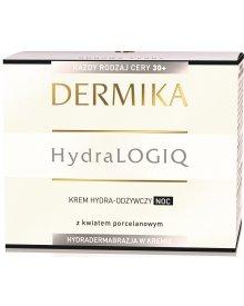 Dermika HydraLogiq 30+ Krem hydra-odżywczy noc 50 ml