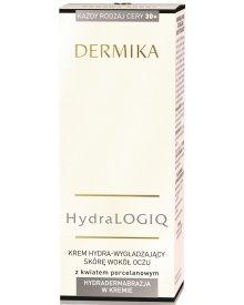 Dermika HydraLogiq 30+ Krem hydra-wygładzający skórę wokół oczu 15 ml