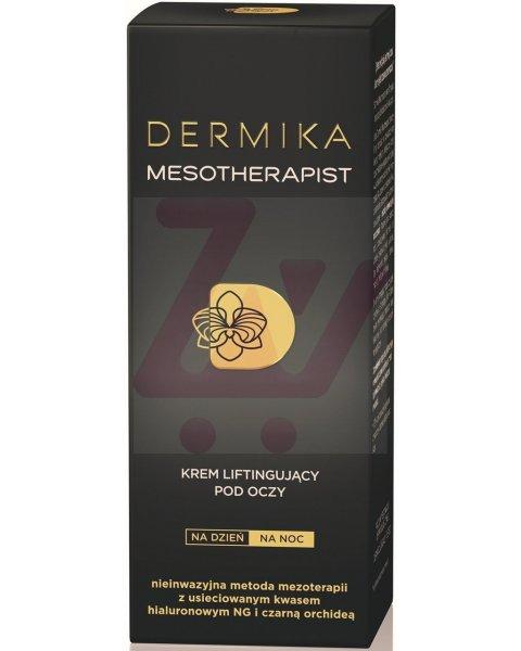 Dermika Mesotherapist Krem liftingujący pod oczy na dzień na noc 15 ml