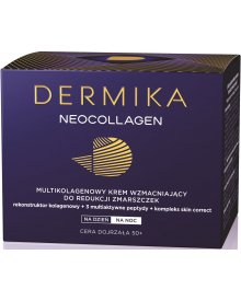 Dermika Neocollagen 50+ Multikolagenowy krem wzmacniający na dzień i na noc 50 ml