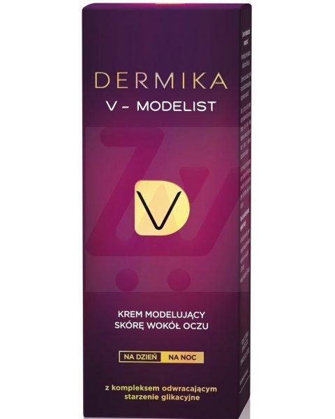 Dermika V-Modelist Krem modelujący skórę wokół oczu na dzień na noc 15 ml