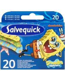 Salvequick Sponge Bob Plastry 20 sztuk