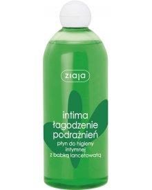 Ziaja Intima ziołowy płyn do higieny intymnej Babka Lancetowa 500ml