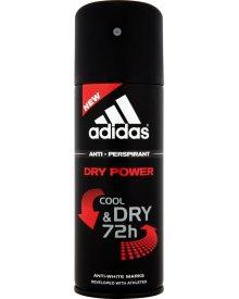 Adidas Cool and Dry Dry Power Dezodorant antyperspirant w sprayu dla mężczyzn 150 ml