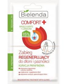 Bielenda Comfort Kuracja parafinowa zabieg regenerujący z rękawiczkami 10ml