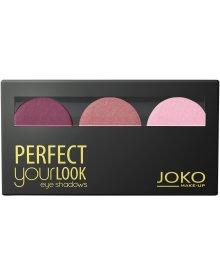 Joko potrójne cienie do powiek satynowe Perfect Your Look nr 301 1szt.